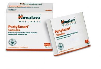Himalaya Wellness PartySmart Capsule Pack of 2