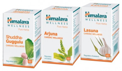 Himalaya Wellness Cardiac Care Combo Pack (Arjuna 60 Tablets,